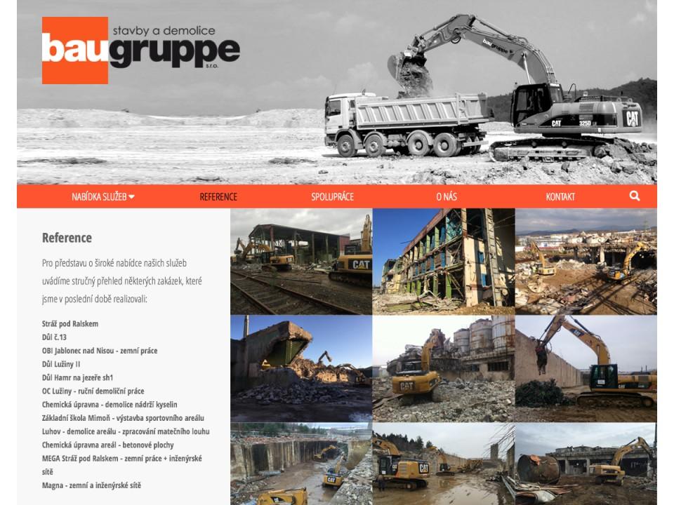 Náhled projektu Bau Gruppe