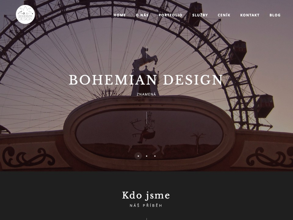 Náhled projektu Bohemian Design