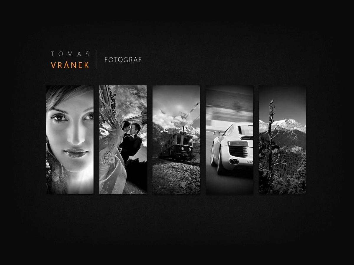 Náhled projektu Fotograf Tomáš Vránek