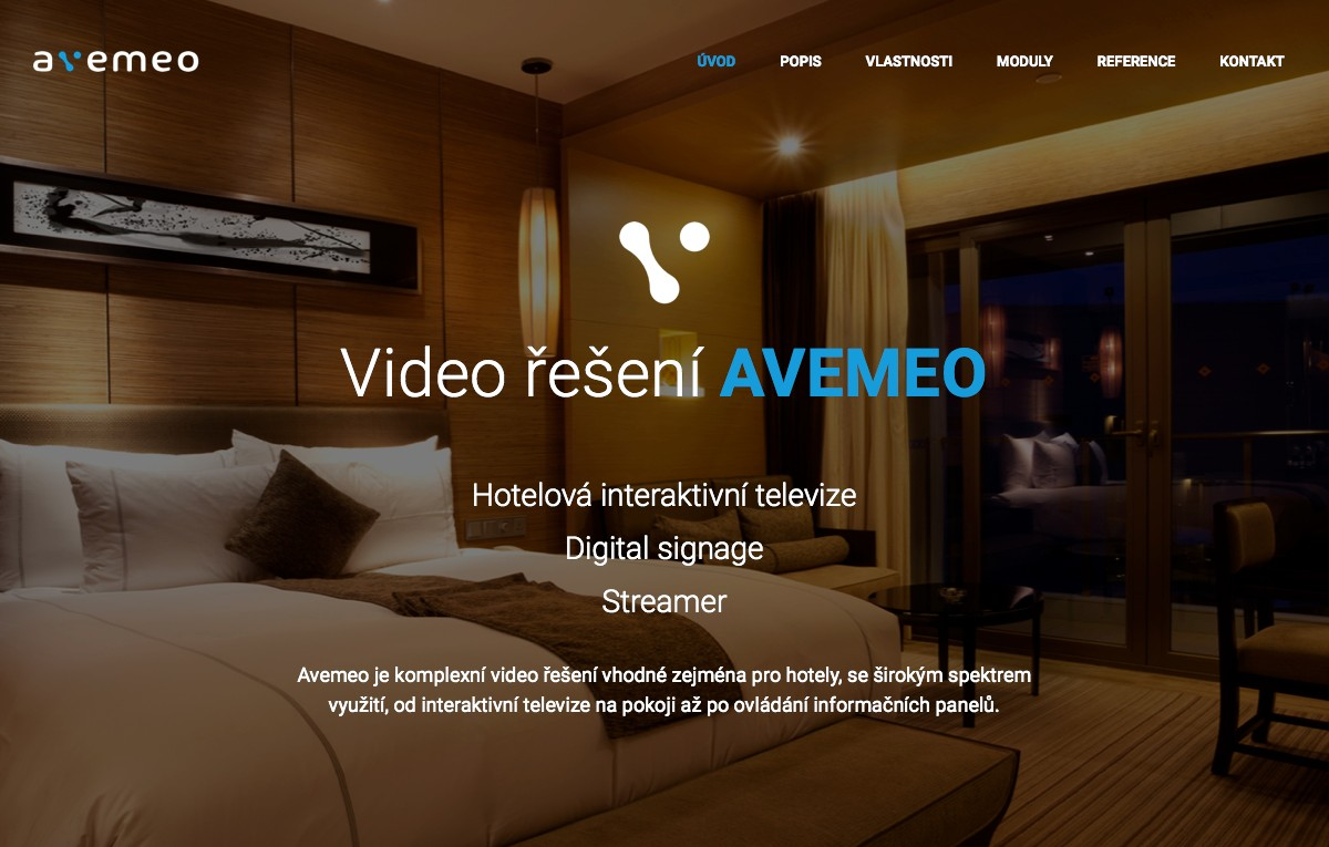 Náhled projektu AVEMEO