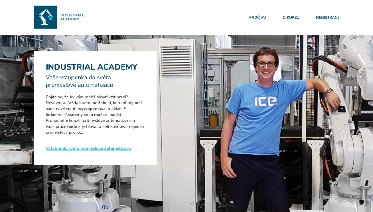 Náhled projektu Industrial Academy
