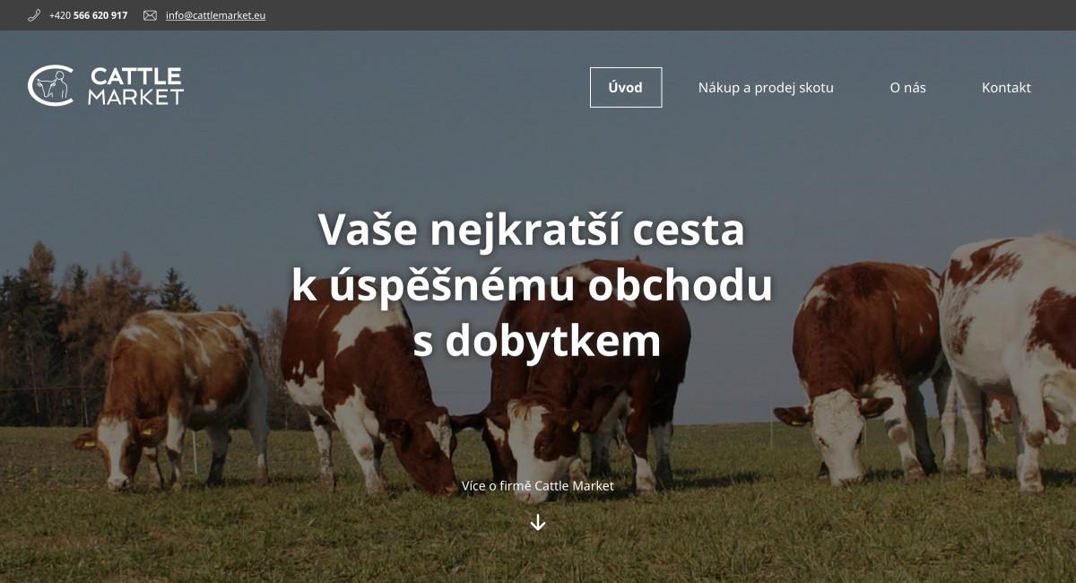 Náhled projektu Cattle Market