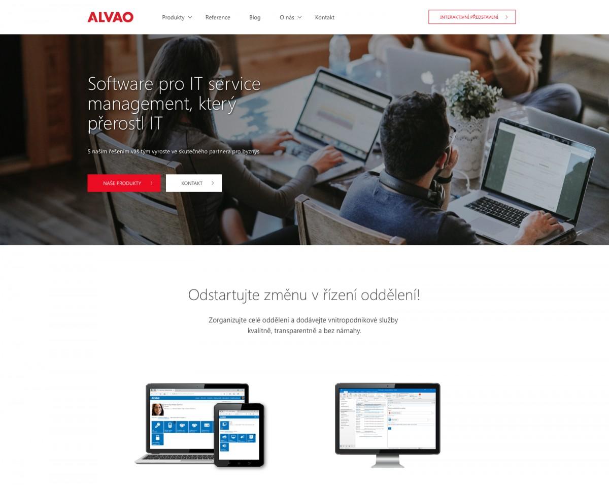 Náhled projektu ALVAO