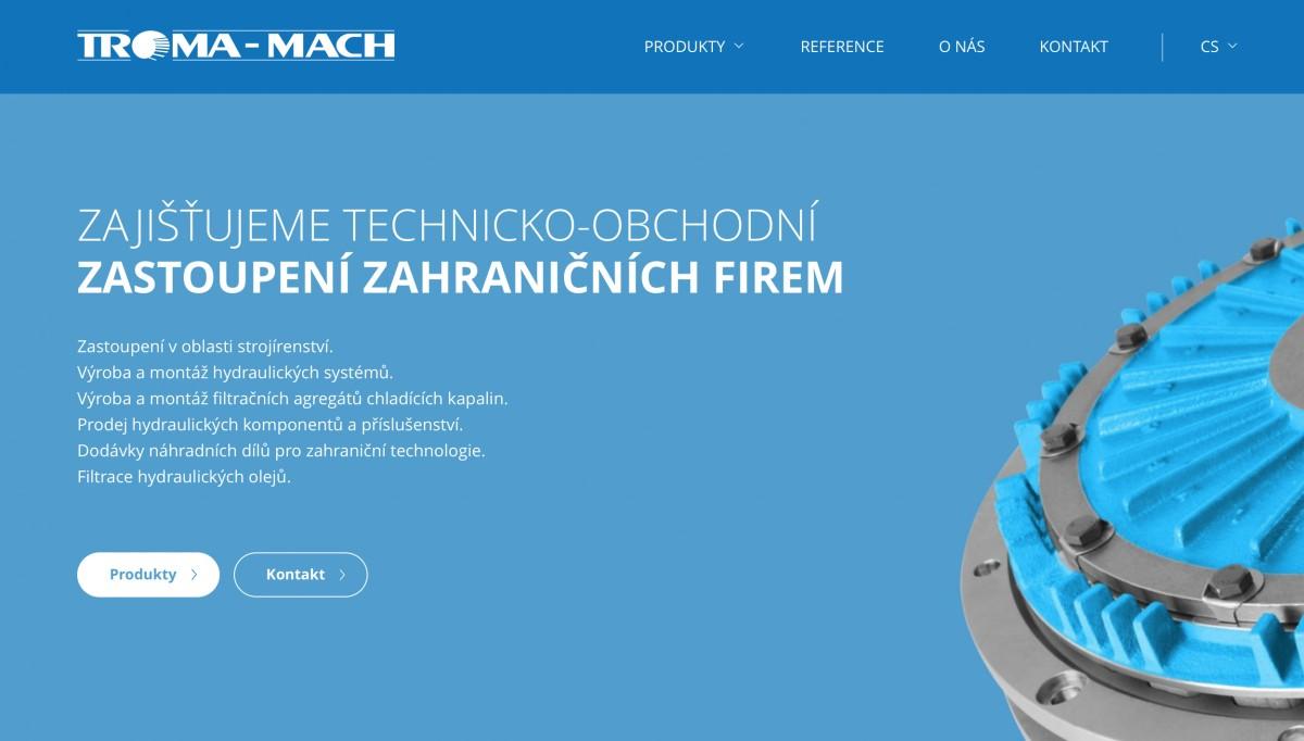 Náhled projektu Troma-Mach