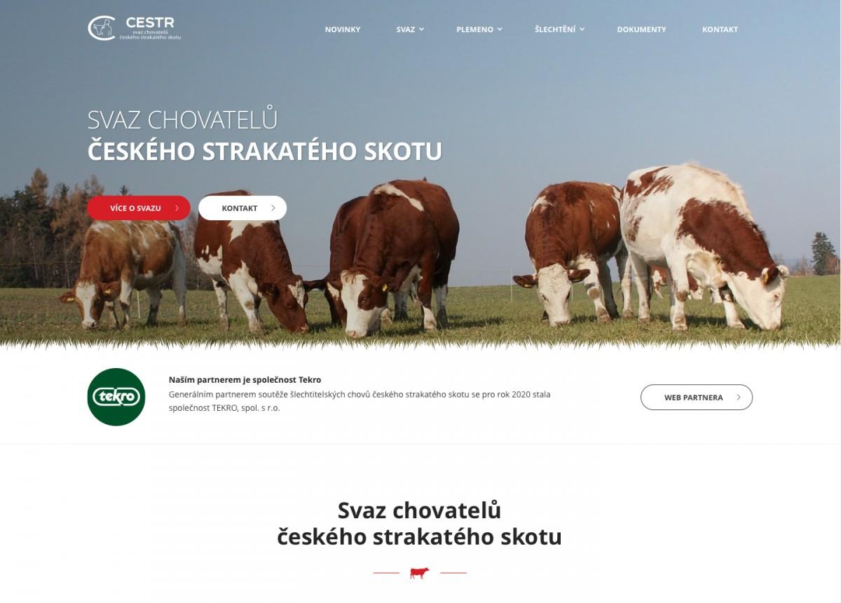 Náhled projektu Svaz chovatelů českého strakatého skotu