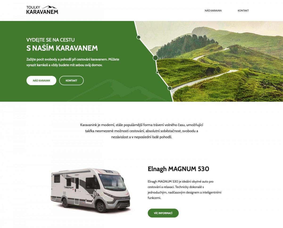 Náhled projektu Toulky karavanem