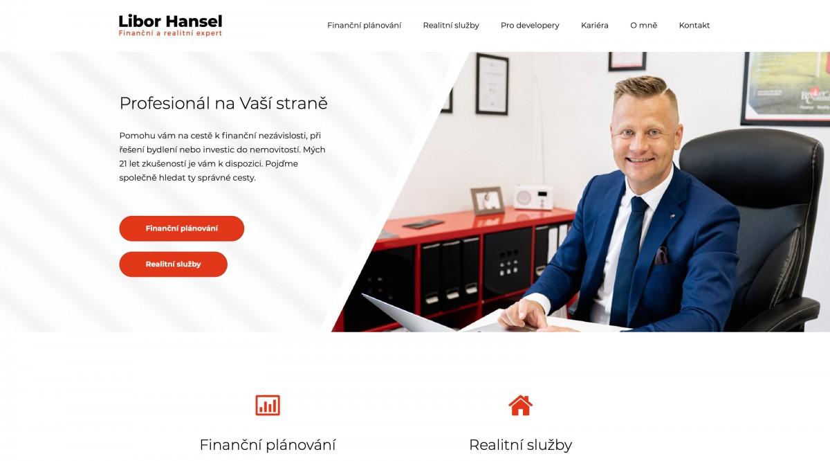 Náhled projektu Libor Hansel