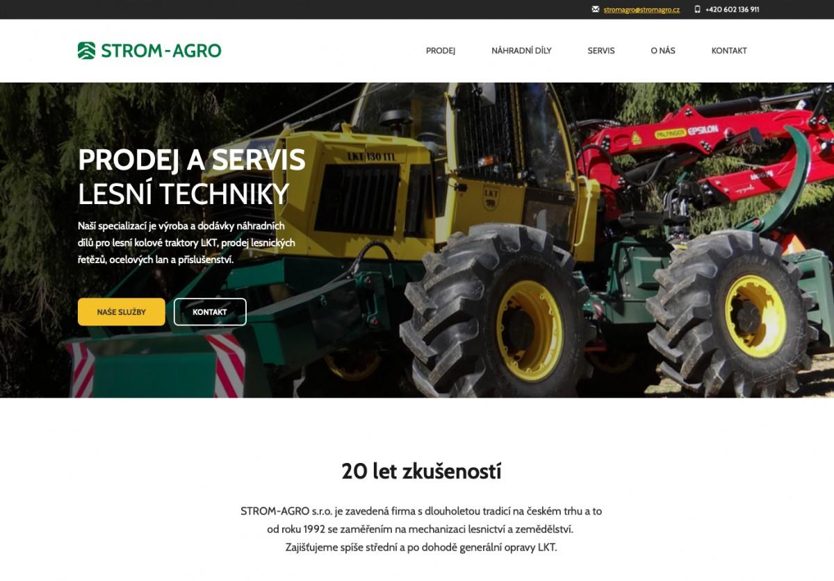 Náhled projektu STROM AGRO
