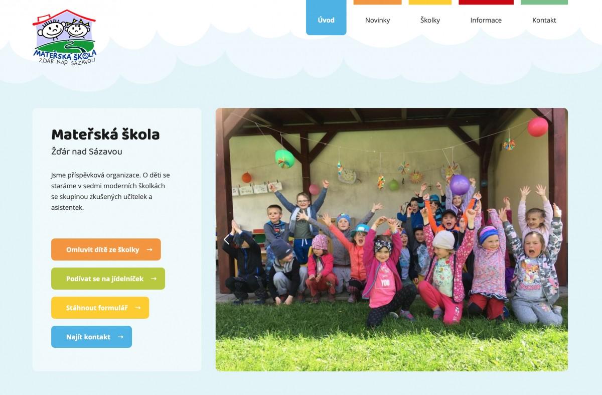 Náhled projektu Mateřská škola Žďár nad Sázavou